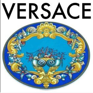 VERSACE LARGE DECORATIVE WALL/ SERVING PLATE
